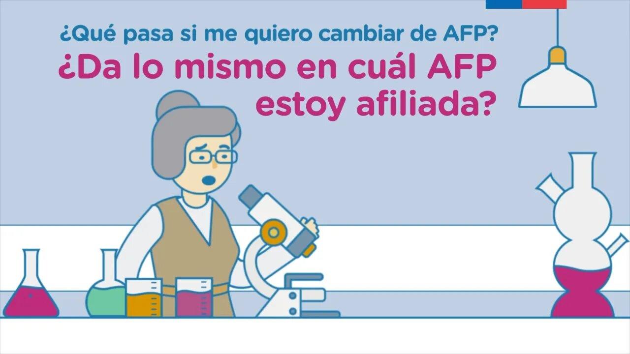 Cómo cambiar de AFP